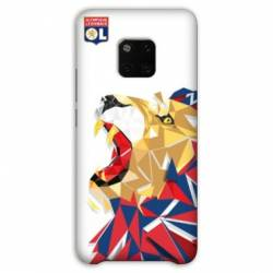 Coque Huawei Mate 20 Pro License Olympique Lyonnais OL - lion color