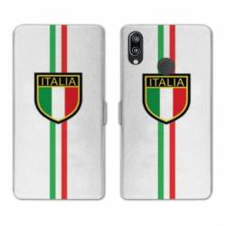 RV Housse cuir portefeuille Huawei Honor 10 Lite / P Smart (2019) Italie