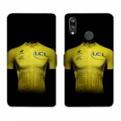 RV Housse cuir portefeuille Huawei Honor 10 Lite / P Smart (2019) Cyclisme