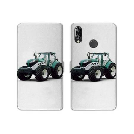 RV Housse cuir portefeuille Huawei Honor 10 Lite / P Smart (2019) Agriculture