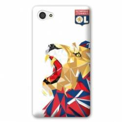 Coque HTC Desire 12 License Olympique Lyonnais OL - lion color