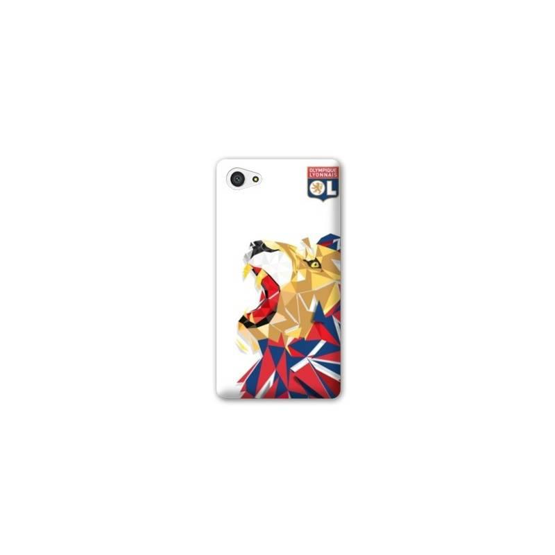 Coque HTC Desire 12 License Olympique Lyonnais OL - lion color