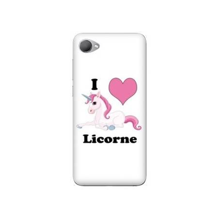 Coque HTC Desire 12 Licorne