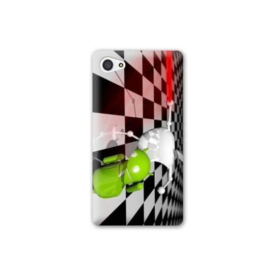 Coque HTC Desire 12 apple vs android