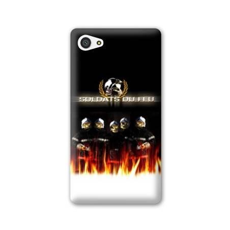 Coque HTC Desire 12 pompier police