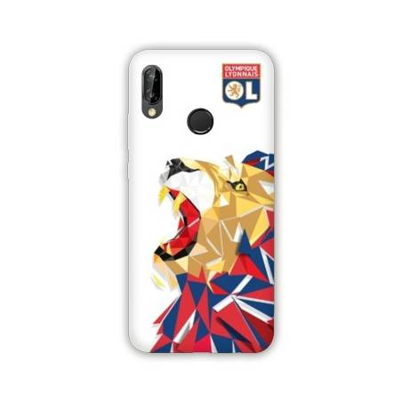 Coque Huawei Y7 (2019) / Y7 Pro (2019) License Olympique Lyonnais OL - lion color