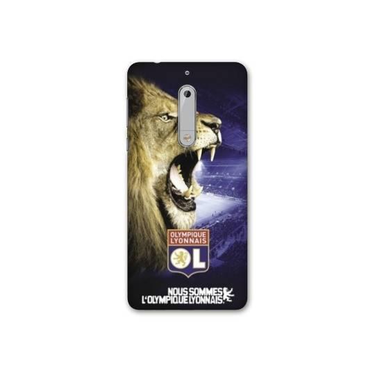 Coque Nokia 7.1 Licence Olympique Lyonnais - Rage de vaincre