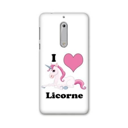 Coque Nokia 7.1 Licorne