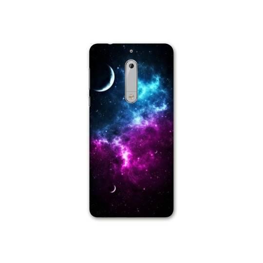 Coque Nokia 7.1 Espace Univers Galaxie
