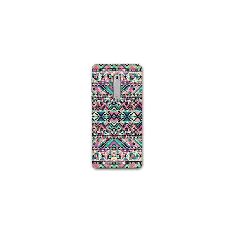 Coque Nokia 7.1 motifs Aztec azteque