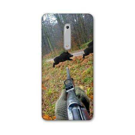 Coque Nokia 7.1 chasse peche