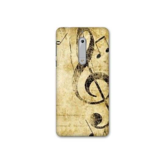 Coque pour Nokia 7.1 Musique