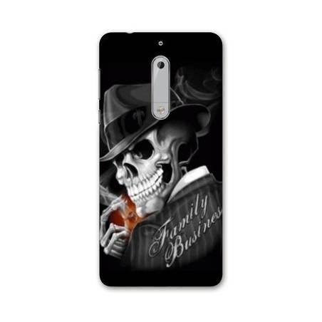 Coque Nokia 7.1 tete de mort