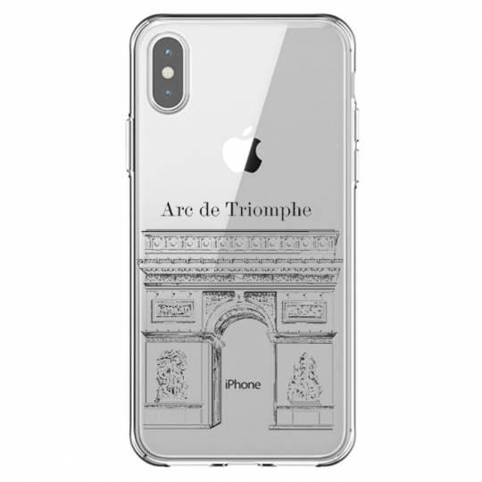 Coque transparente Iphone XR Arc triomphe