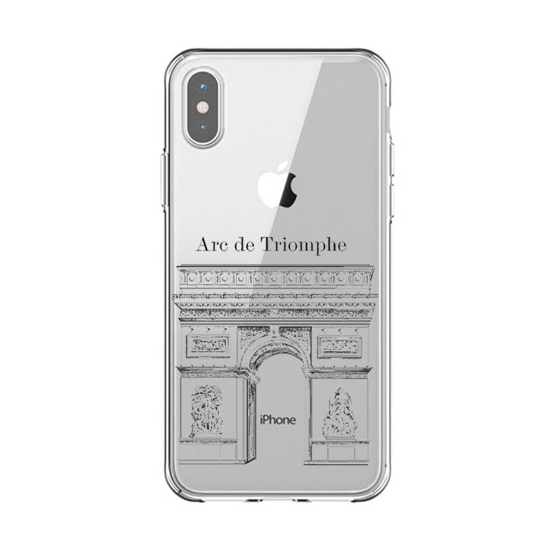 coque trnasparente iphone x