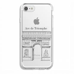 Coque transparente Iphone 6 / 6s Arc triomphe