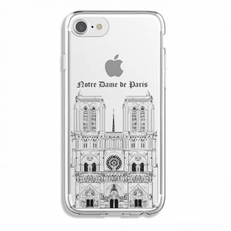 Coque transparente Iphone 7 / 8 Notre Dame Paris