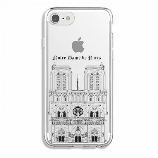 Coque transparente Iphone 6 / 6s Notre Dame Paris