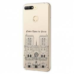 Coque transparente Huawei Y6 (2018) / Honor 7A Notre Dame Paris