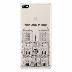 Coque transparente Huawei Y5 (2018) Notre Dame Paris