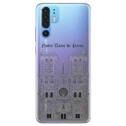 Coque transparente Huawei P30 Pro Notre Dame Paris
