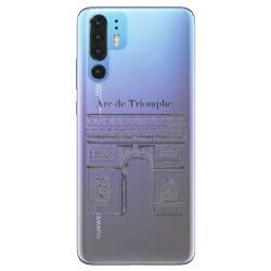 Coque transparente Huawei P30 Pro Arc triomphe
