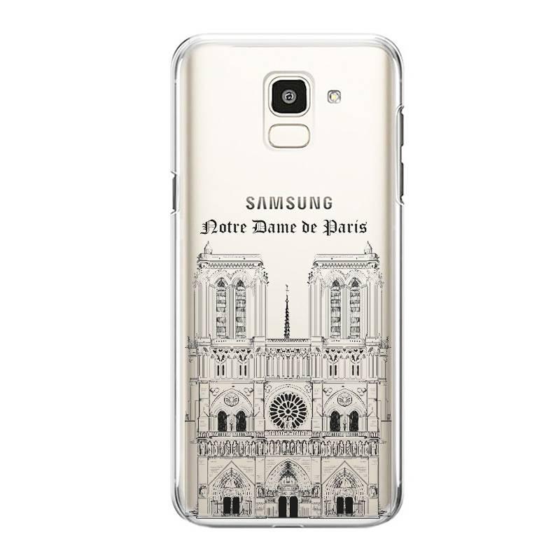 Coque transparente Samsung Galaxy S9 Notre Dame Paris