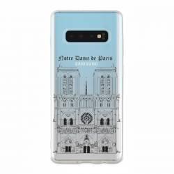 Coque transparente Samsung Galaxy S10 Notre Dame Paris