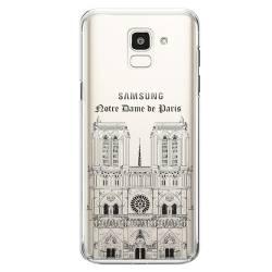 Coque transparente Samsung Galaxy J6 (2018) - J600 Notre Dame Paris