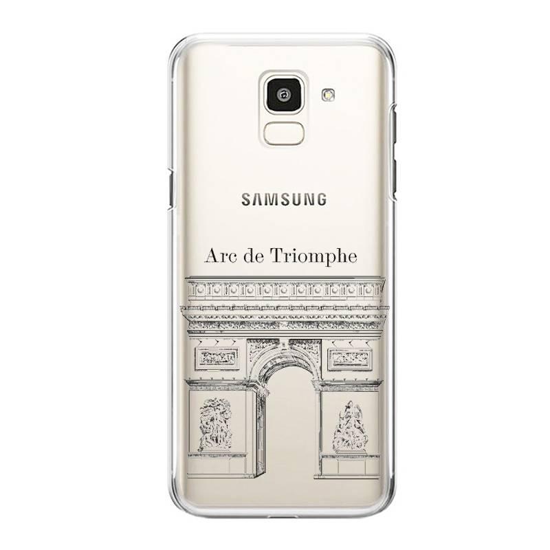 Coque transparente Samsung Galaxy S9 Arc triomphe