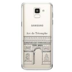 Coque transparente Samsung Galaxy J6 (2018) - J600 Arc triomphe