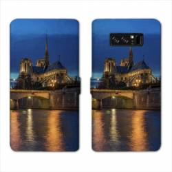 RV Housse cuir portefeuille Samsung Galaxy S10 PLUS Monument
