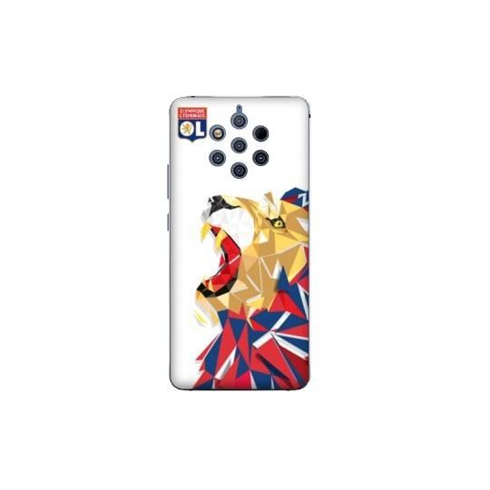 Coque Nokia 9 License Olympique Lyonnais OL - lion color