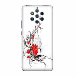 Coque Nokia 9 Pureview fleurs
