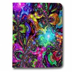 Housse portefeuille Samsung Galaxy TAB A (2018) - T590 Psychedelic