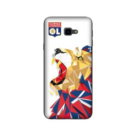 Coque Samsung Galaxy J4 Plus - J415 License Olympique Lyonnais OL - lion color