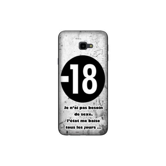 Coque pour Samsung Galaxy J4 Plus - J415 Humour