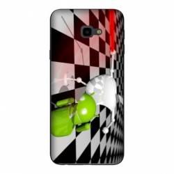 Coque Samsung Galaxy J4 Plus - J415 apple vs android