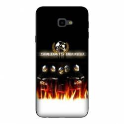 Coque Samsung Galaxy J4 Plus - J415 pompier police
