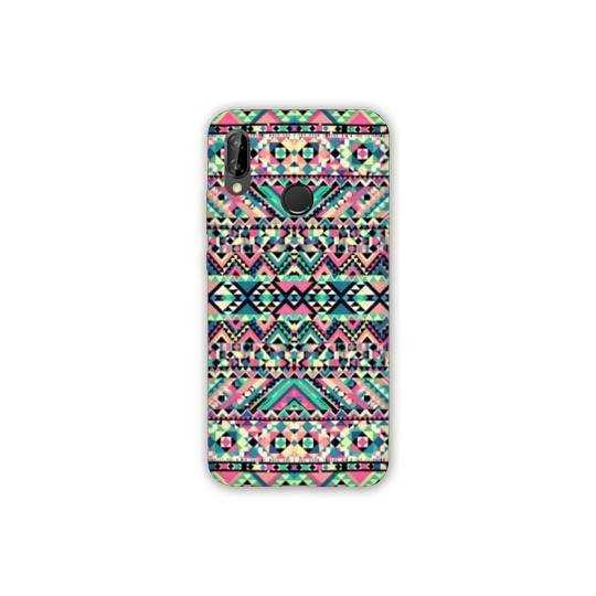 Coque Samsung Galaxy A40 motifs Aztec azteque