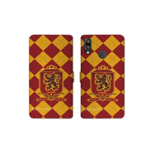 RV Housse cuir portefeuille pour Samsung Galaxy A40 WB License harry potter ecole