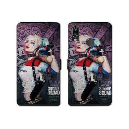RV Housse cuir portefeuille Samsung Galaxy A40 Harley Quinn