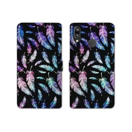 RV Housse cuir portefeuille Samsung Galaxy A40 Psychedelic