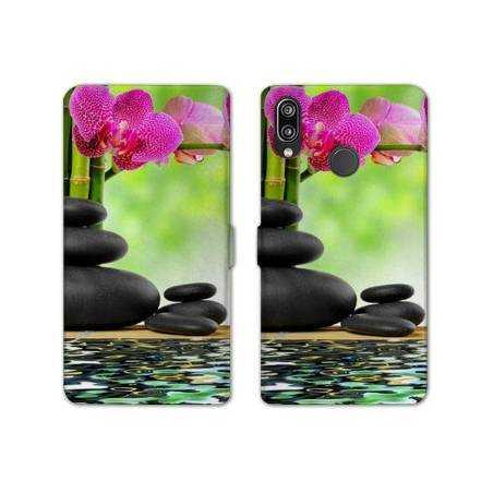 RV Housse cuir portefeuille Samsung Galaxy A40 Zen