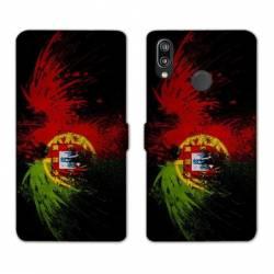 RV Housse cuir portefeuille Samsung Galaxy A40 Portugal