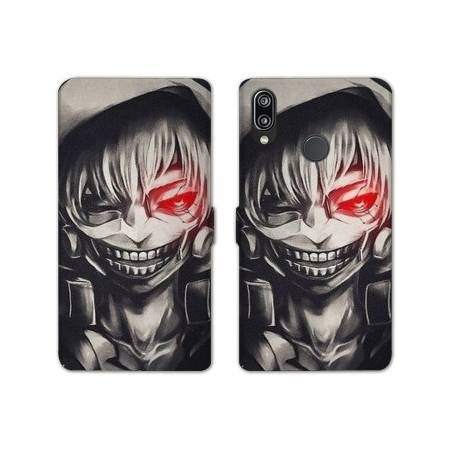 RV Housse cuir portefeuille Samsung Galaxy A40 Manga - divers