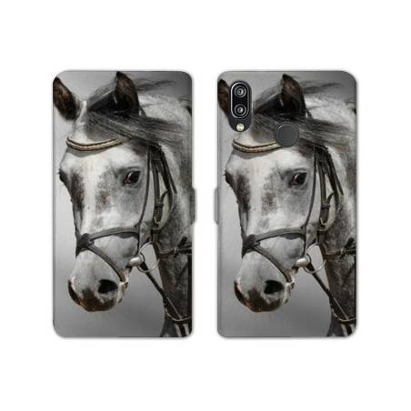 RV Housse cuir portefeuille Samsung Galaxy A40 animaux