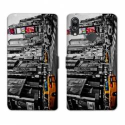 RV Housse cuir portefeuille Samsung Galaxy A40 Amerique