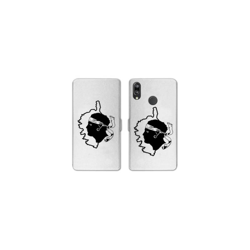 RV Housse cuir portefeuille Samsung Galaxy A40 Corse