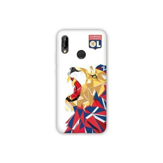 Coque Huawei Y6 (2019) / Y6 Pro (2019) License Olympique Lyonnais OL - lion color
